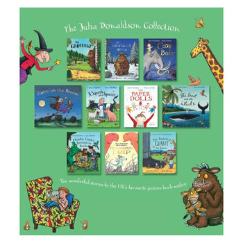 Julia Donaldson 10 Book Collection (2+ Years)