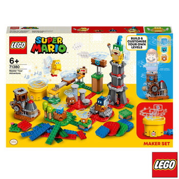LEGO Super Mario: Master Your Adventure Maker Set - Model 71380 (6+ Years)