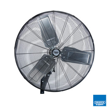 Draper 30 Inch Industrial Wall Mounted Fan