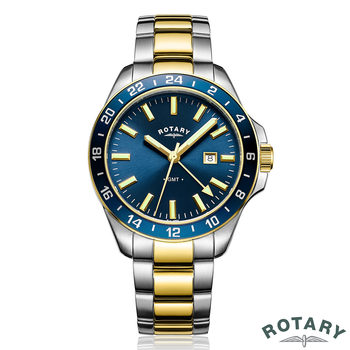 Rotary Havana GMT Two Tone Gents Watch GB05082/05