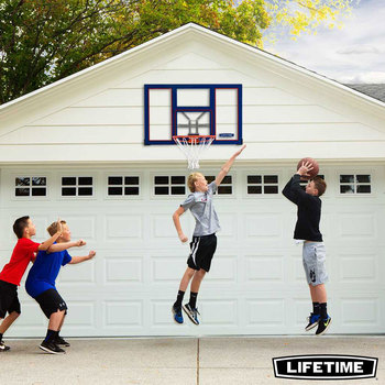 "Lifetime Basketball Slam-It Rim and 48"" (122 cm) Backboard"