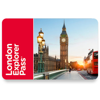 "London 'Choose 4' Explorer Pass E-Card  - including ""The London Eye"""