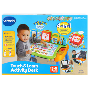 VTech 4-in-1 Touch and Learn Activity Desk (3+ Years)