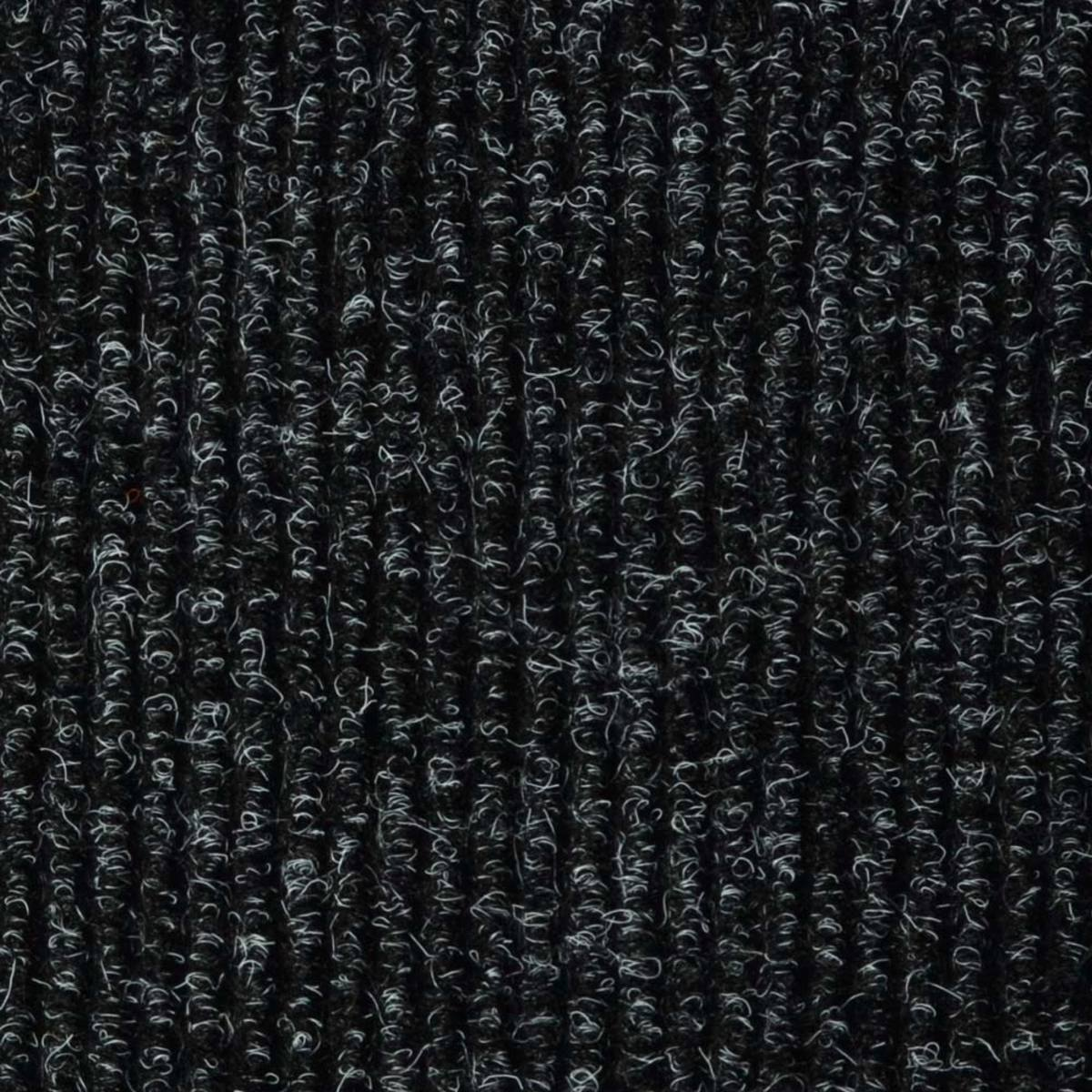 Image of: Jvl Ribbed Carpet Tile In Anthracite 5m Per Pack Costco Uk