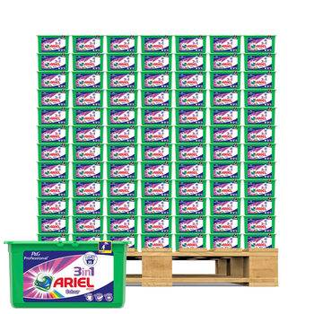 Ariel 3 in 1 Colour Liquitabs, 3 x 35 Pack - Pallet Deal