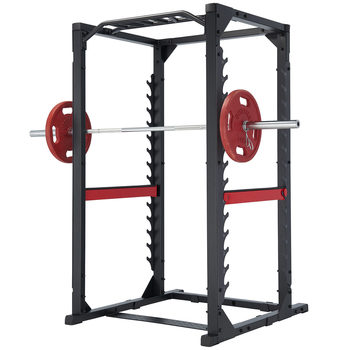 Steelflex® Club Line Power Rack 380 Gym Package with Olympic Weight Set