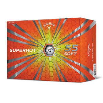 Callaway Superhot 55 2-Piece Golf Balls - 24 Pack