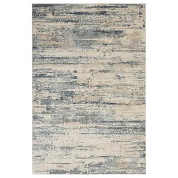 Rustic Textures Rustic Beige & Grey Rug in 3 Sizes