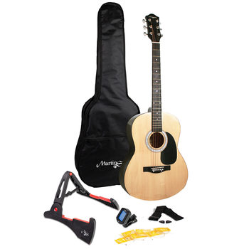 Martin Smith Full Size Acoustic Guitar Bundle