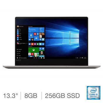 "Lenovo 720s IdeaPad 13.3"" Notebook, Intel Core i5, 8GB RAM, 256GB Solid State Drive in Grey"