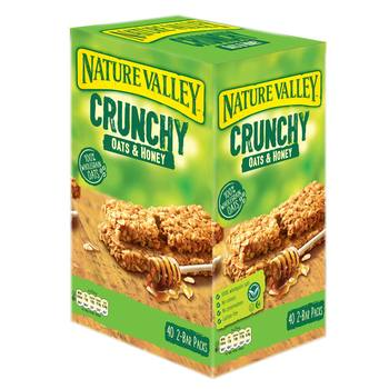 Nature Valley Crunchy Oats & Honey Bars, 40 x 42g