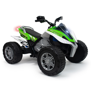 Injusa 24V Electric Quad Rage Ride On in Green (6+ Years)