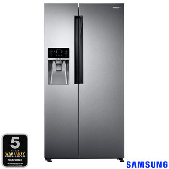 Samsung RS58K6387SL/EU, Side by Side Fridge Freezer, A+ Rating in Clean Steel