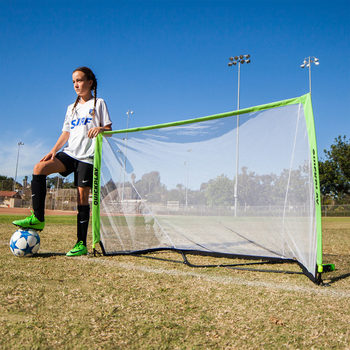 Quickplay 5 x 3ft (152 x 91cm) Pop Up Football Goal - Twin Pack