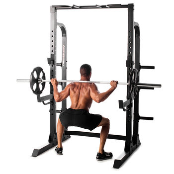 Weider 7500 Pro Power Rack with Weider Utility Bench