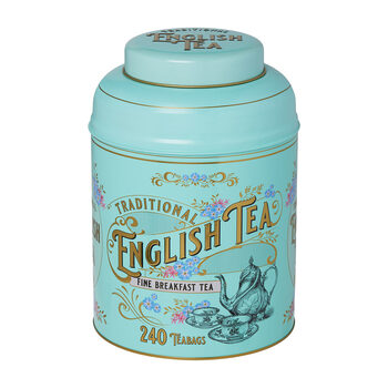 New English Tea with Caddy, 240 Teabags