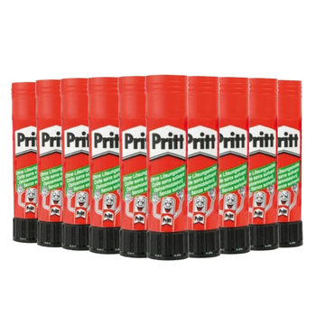 Pritt (43g) Large Washable Non Toxic Solid Glue Stick - Pack of 20