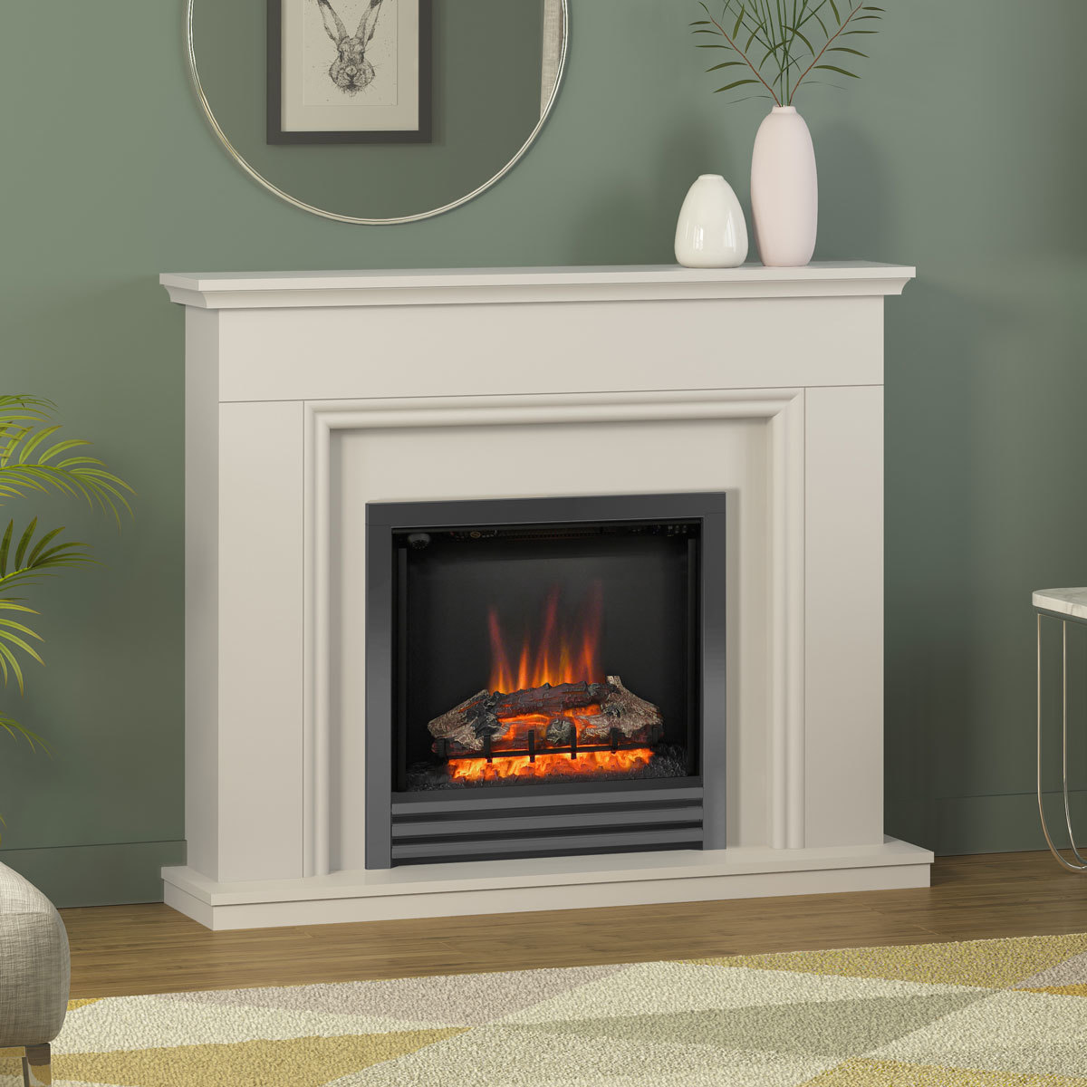 Be Modern Berkley Electric Fireplace Suite 2kw Costco Uk