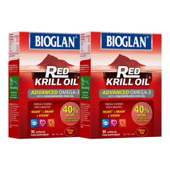 Bioglan Red Krill Oil, 2 x 30 Capsules (1 Month Supply)