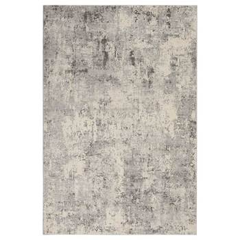 Rustic Textures Mottled Grey Rug in 2 Sizes