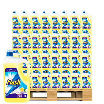 Flash Lemon Hard Surface Cleaner, 5L Pallet Deal (135 Units)