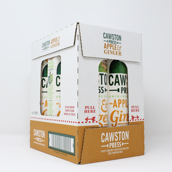 Cawston Press Apple and Ginger Juice, 6 x 1L