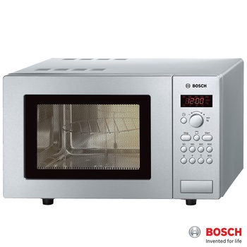 Bosch HMT75G451B, 17L Grill Microwave in Stainless Steel