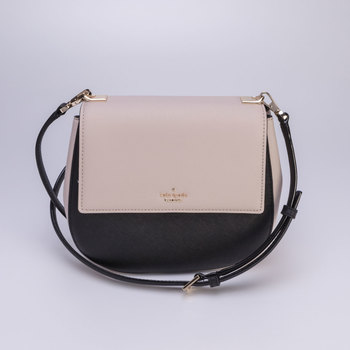 Kate Spade Cameron Street Byrdie Handbag, Tusk and Black