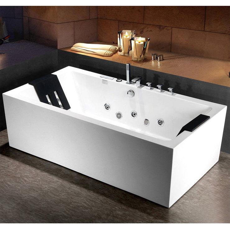 Platinum Spas Genoa 2 Person Whirlpool Bath Tub | Costco UK