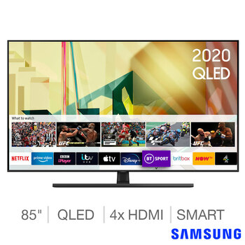 Samsung QE85Q70TATXXU 85 Inch QLED 4K Ultra HD Smart TV