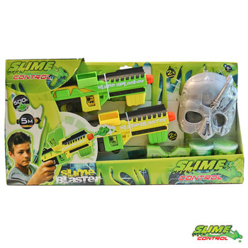 Slime Control Blaster 2 Pack With 2 Tubs Of Slime (6+ Years)
