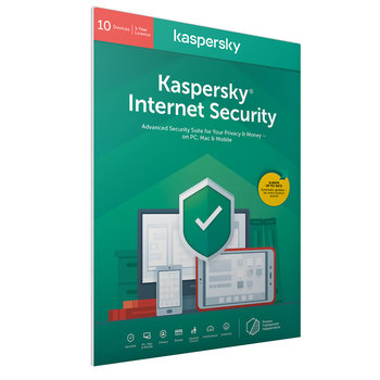 Kaspersky Internet Security 2021, 10 Devices 1 Year