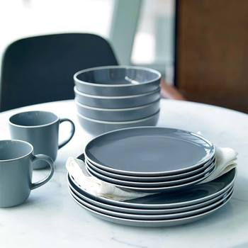 Gordon Ramsay Bread Street By Royal Doulton 16 Piece Dinnerware Set in 2 Colours