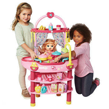 Baby Alive Cook 'N' Care 3-in-1 Set + 28 Accessories (3+ Years)