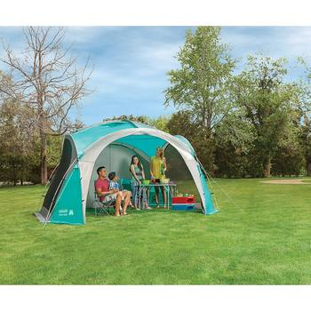 Coleman 12 x 12ft (3.65 x 3.65m) Large Event Dome Shelter with Screen Walls
