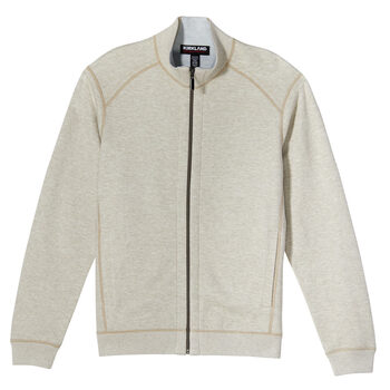 Kirkland Signature Men's Full Zip Sweater in 2 Colours and 4 Sizes