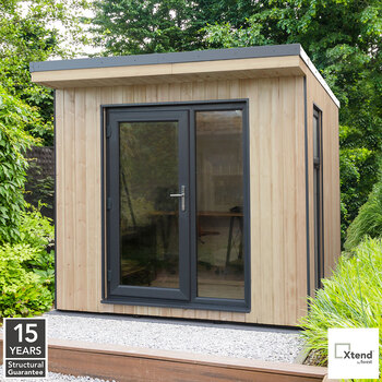 Forest Garden Xtend 2.5 x 2.5m Insulated Garden Office