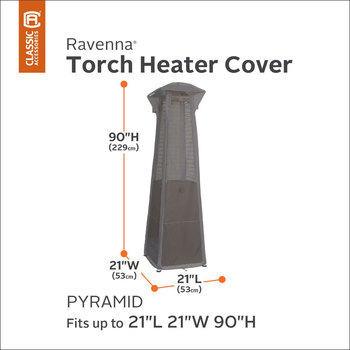 Classic Accessories Ravenna Pyramid Torch Heater Cover