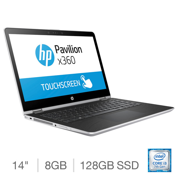 HP Pavilion, Intel Core i3, 8GB RAM, 128GB SSD, 14 inch Convertible  Notebook, 14-ba007na | Costco UK