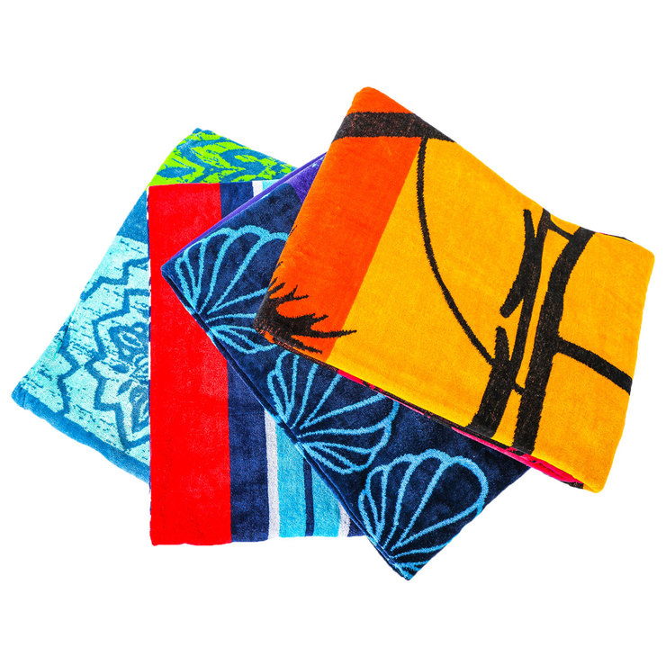 Beach Blanket At Costco: Kirland Signature Egyptian Cotton Beach Towels In 8
