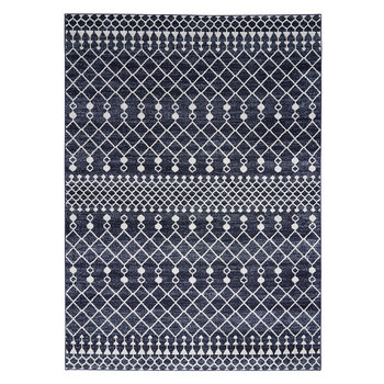 Palermo Blue Bohemian Rug in 2 Sizes
