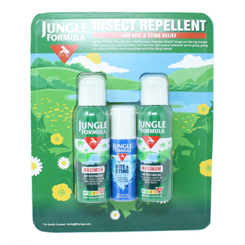 Jungle Formula Insect Repellent and Bite & Sting Relief