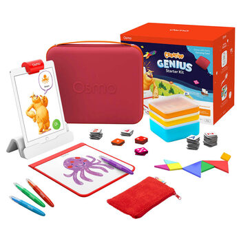 Osmo Creative Genius Starter Kit And Carrying Case Bundle (4+ Years)