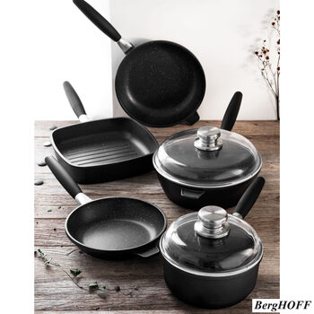 BergHOFF Champion Eurocast 7 Piece Cookware Set