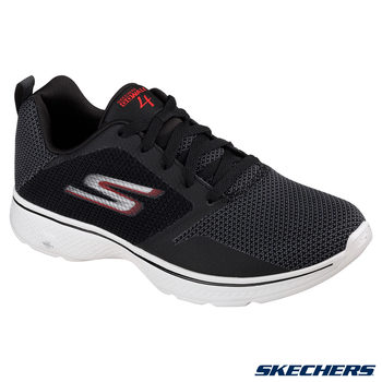 Skechers GOwalk 4 Lace Up Men's Shoes Available in 2 Colours and 5 Sizes
