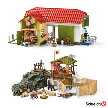 Schleich Animal Play Set Assortment in 2 Styles