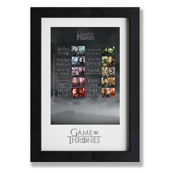 Game of Thrones Framed Royal Mail® Collectible Stamps - Collector's Sheet