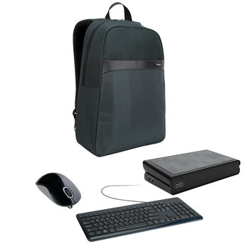 Targus Mouse, Keyboard, Laptop Bag and Docking Station Bundle