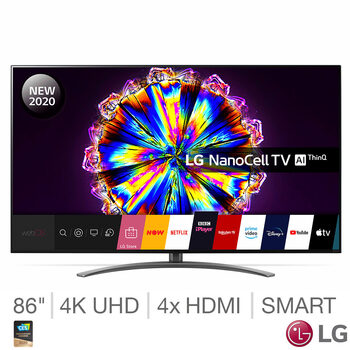 LG 86NANO916NA 86 Inch NanoCell 4K Ultra HD Smart TV