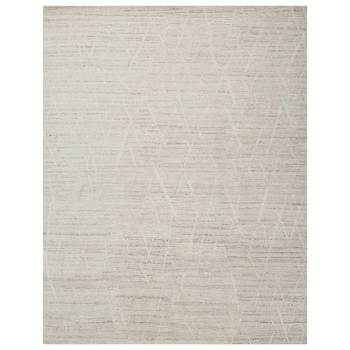 Ocean Pearl Crosshatch Rug in 2 Sizes